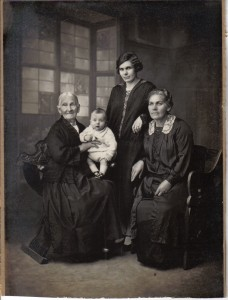 Mary Ann Pywell_4 generations 2